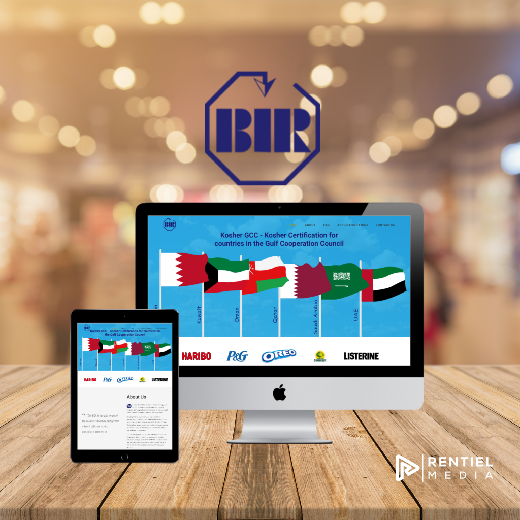 kosher gcc website design
