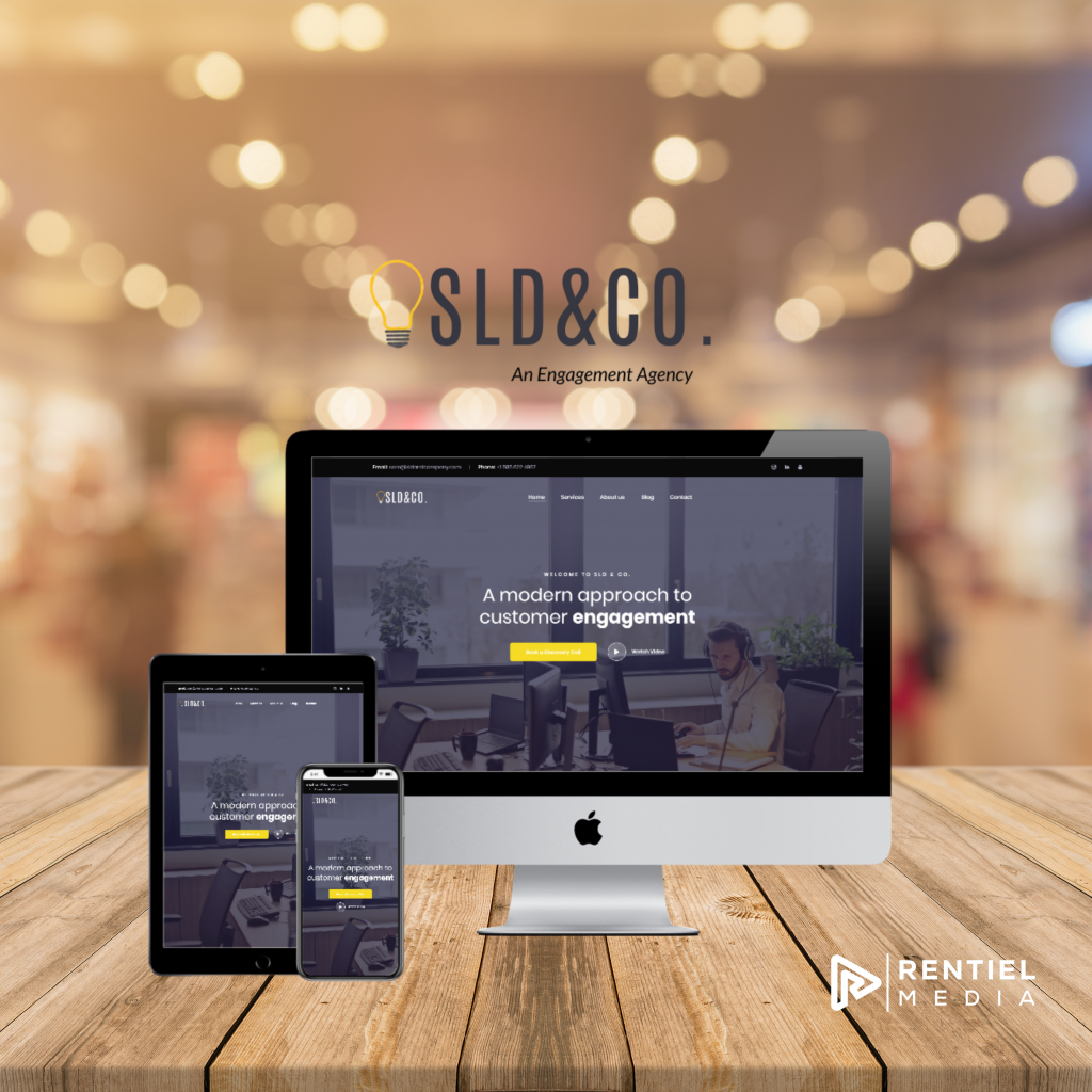 sld and company website design